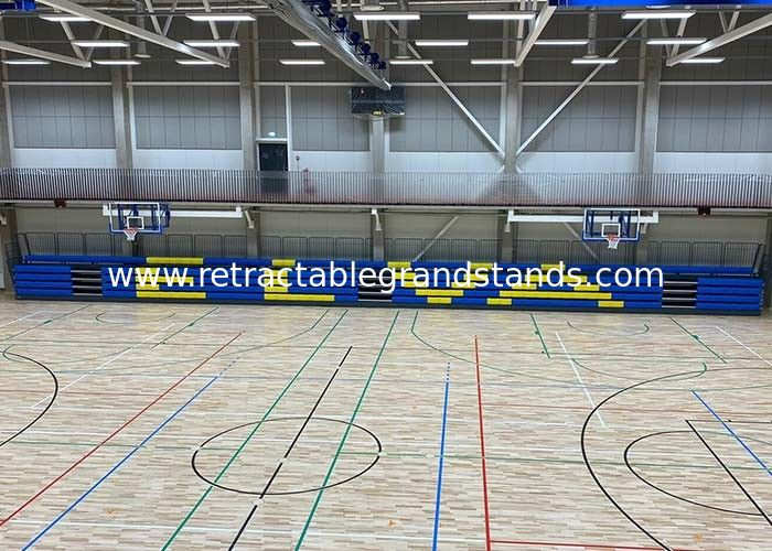 Movable 450mm Width HDPE Telescopic Seating Systems